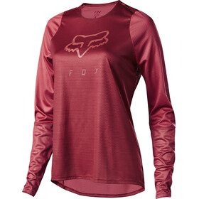 Fox Defend LS Jersey Women cardinal